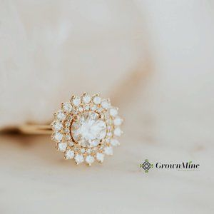 0.60 Ct Moissanite Ring / Make to Order